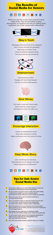 Benefits of Social Media for Seniors