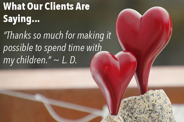 Testimonial - Time With Children