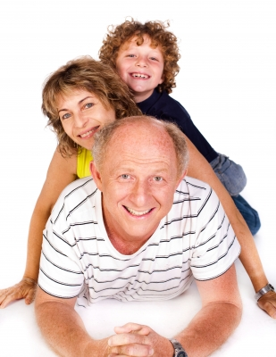 Grandad With Grandkids_freedigitalphotos.net-photostock